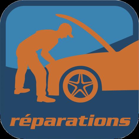 Réparations, entretiens, pneumatiques